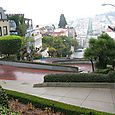 Lombard St crooked part